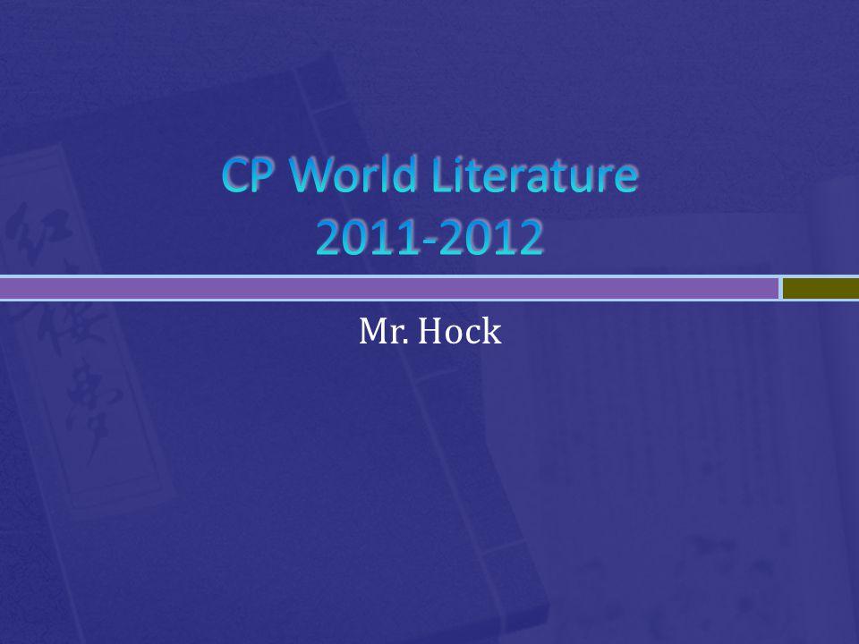Mr. Hock