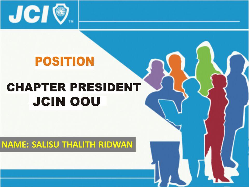 NAME: SALISU THALITH RIDWAN