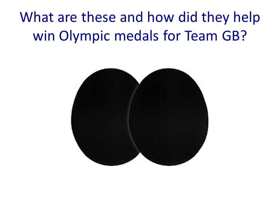 What are these and how did they help win Olympic medals for Team GB