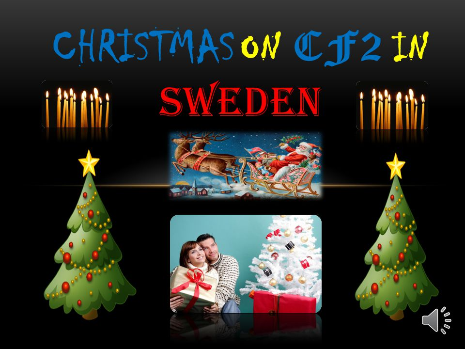 CHRISTMAS ON CF2 IN SWEDEN
