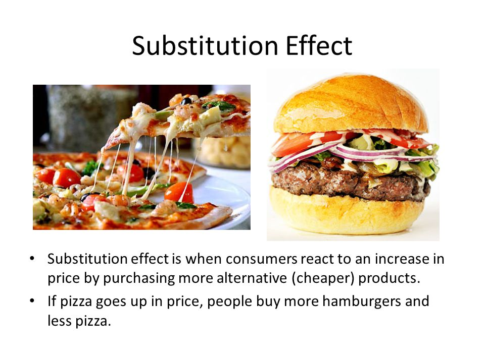 Income Effect Income effect is when consumers demand less because of a change in real income.