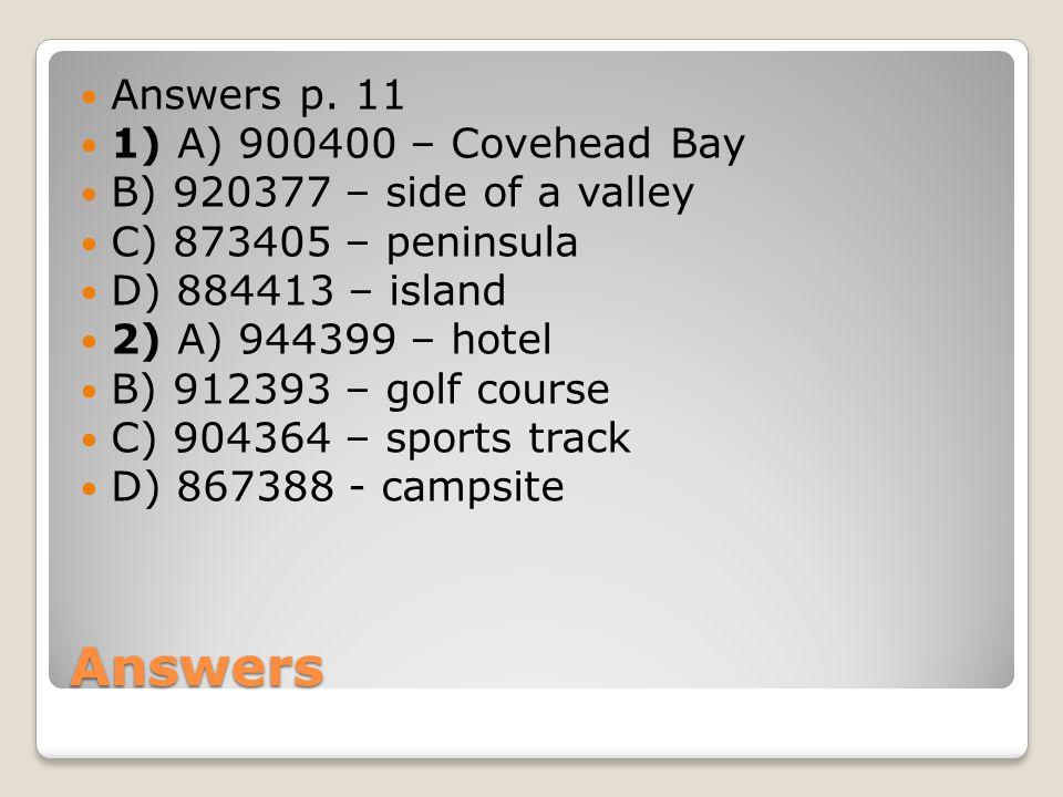 Answers Answers p.