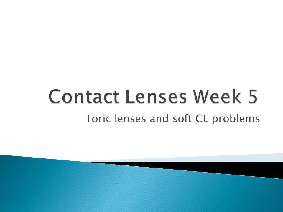 Toric lenses and soft CL problems