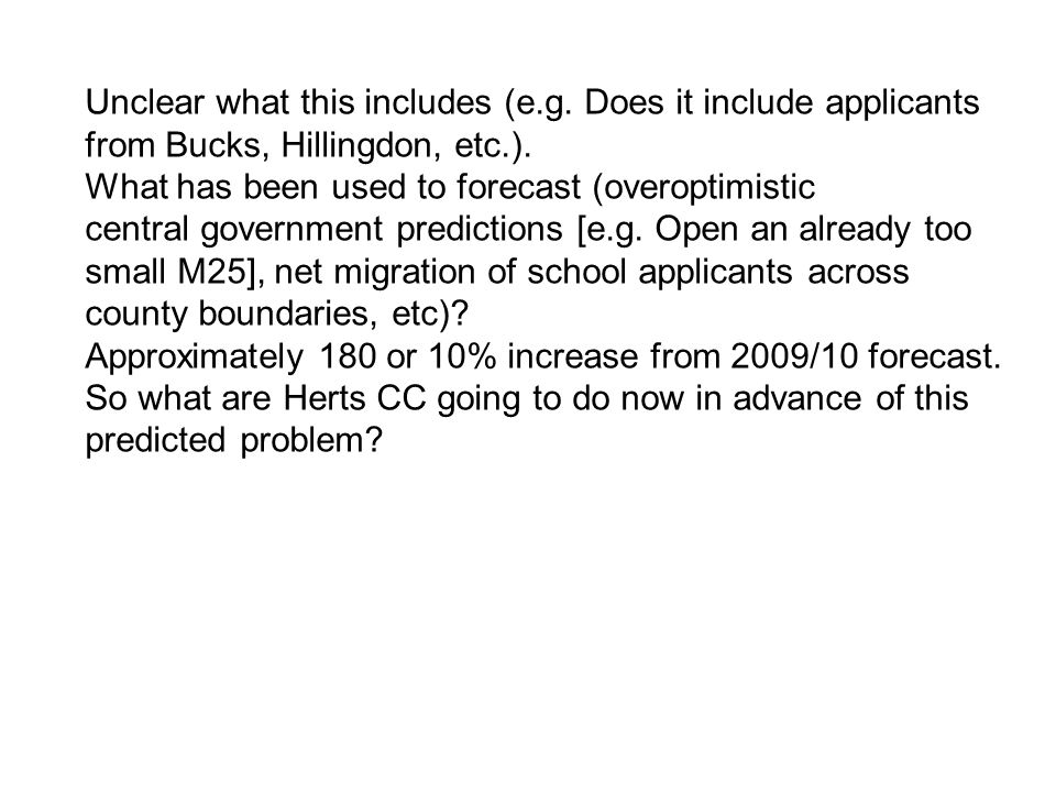 Update On Secondary Transfer for Admission September 2009 Following Meeting with Croxley Green Parents Group Hertfordshire County Council www.hertsdirect.org Sarah Vize Senior Manager Admissions and Transport