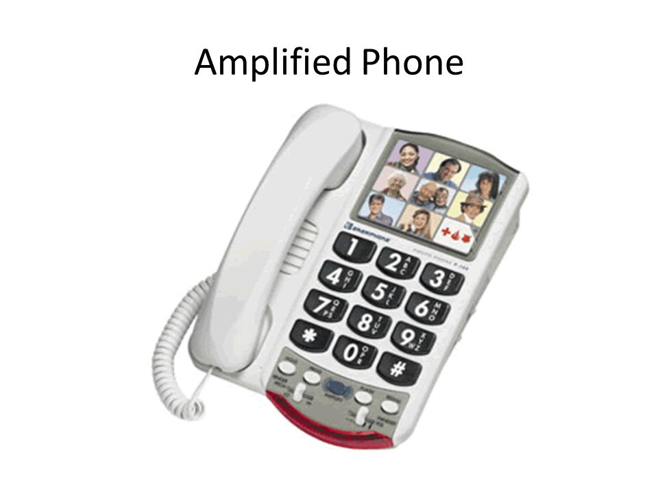 Amplified Phone