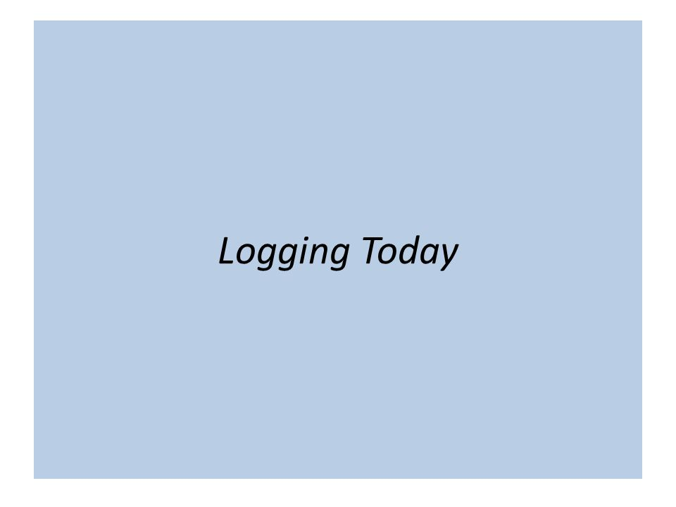"The term ""cloud"" is nebulous… Logging Today"