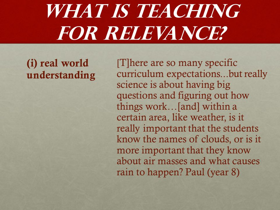 Implications for Pre-service and In-service Teacher Education