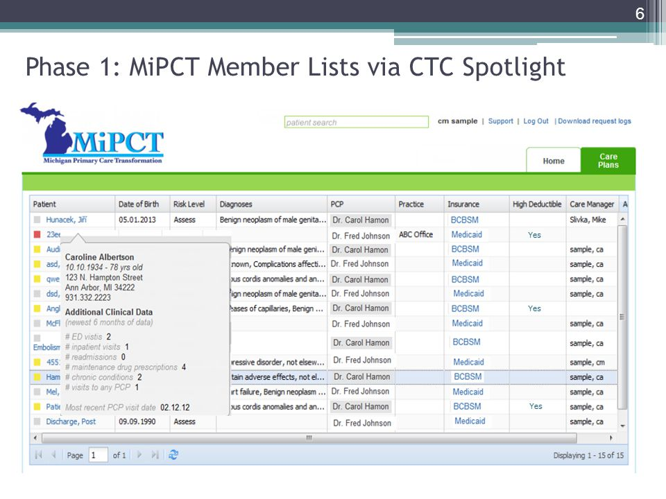 Phase 1: New Member Alerts via CTC Spotlight 7