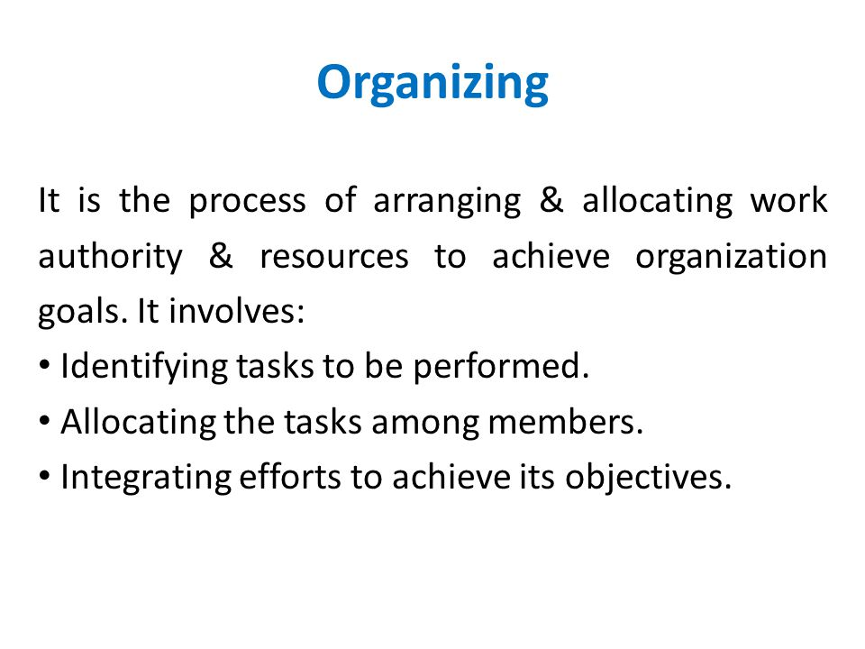 The framework for dividing, assigning, and coordinating work Developments in or changes to the structure of an organization Organization Structure Organization Design