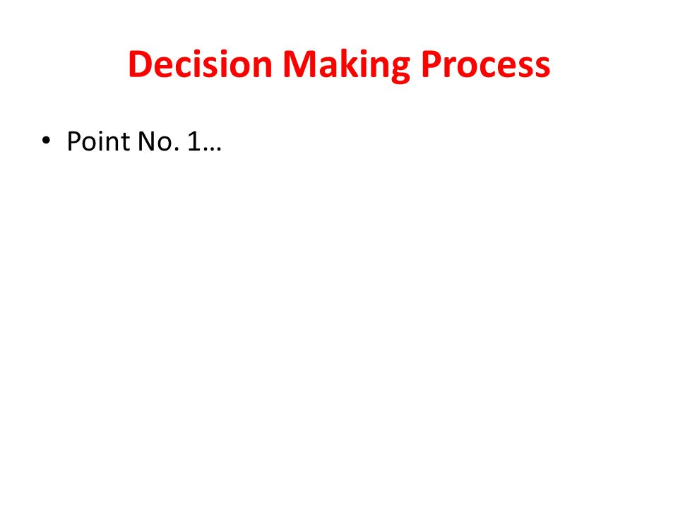 Objectives  Decision making process.  Foundation of Planning.  Strategic Management.