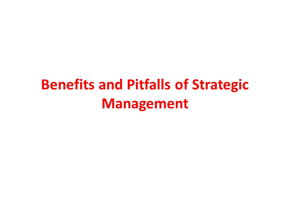 Strategic Management Communication is a key to successful strategic management.