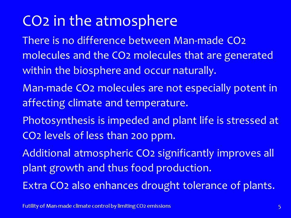 Not Joining-in Futility of Man-made climate control by limiting CO2 emissions 26