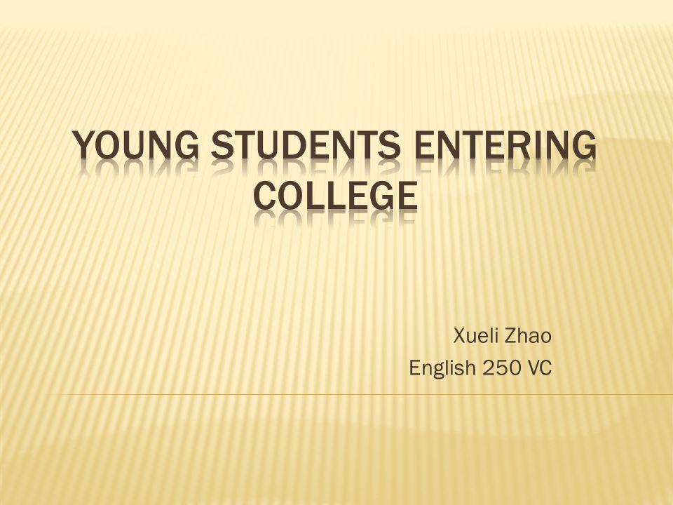 Xueli Zhao English 250 VC