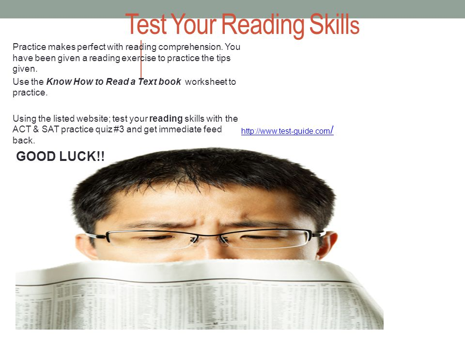UBMS Critical Reading & Writing Tips Assistance with Standardized tests SAT/STAAR Reading and Writing Assessments Learning to Read : I.