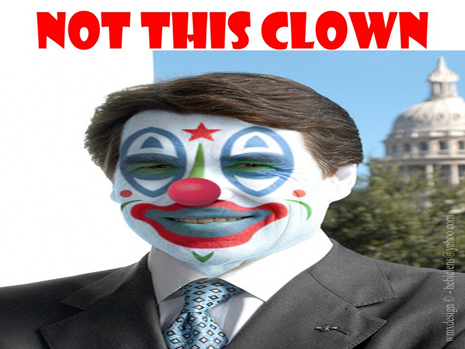 Not this clown