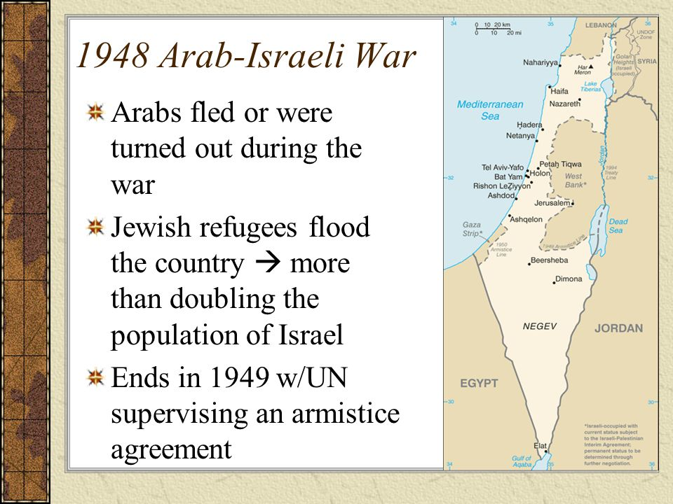 why did israel win the 1948 war Analysis: why did israel win the war of 1948-49 working with a partner, students cut up these slips and then organise them under headings of their choice.