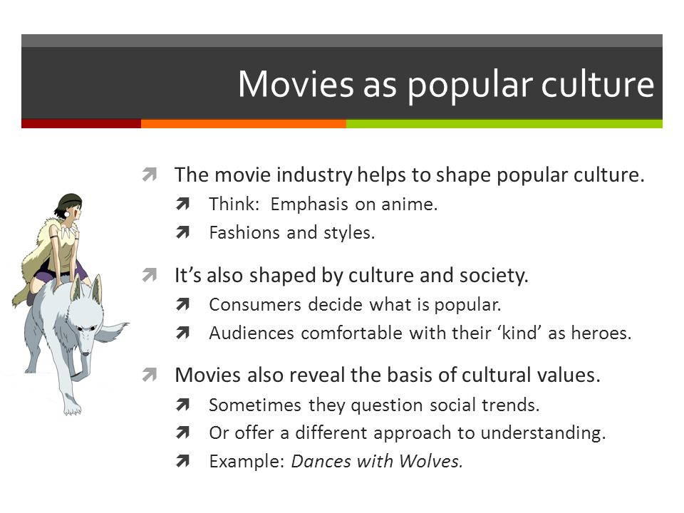 culture and movies