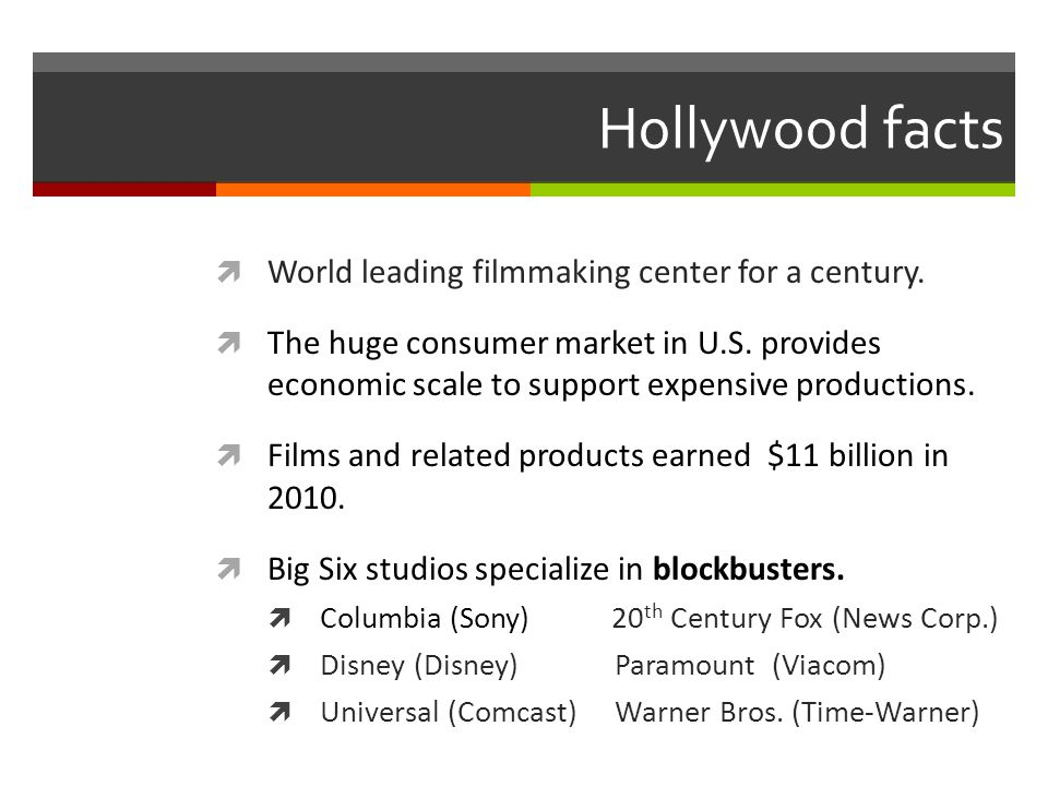 What makes a blockbuster.