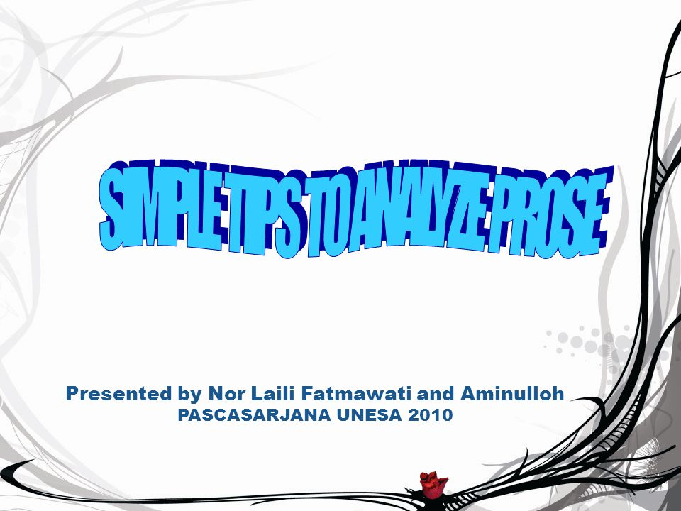 Presented by Nor Laili Fatmawati and Aminulloh PASCASARJANA UNESA 2010