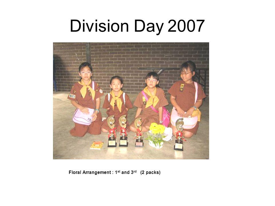Division Day 2007 KIM'S Game 1st Kite Making 1st