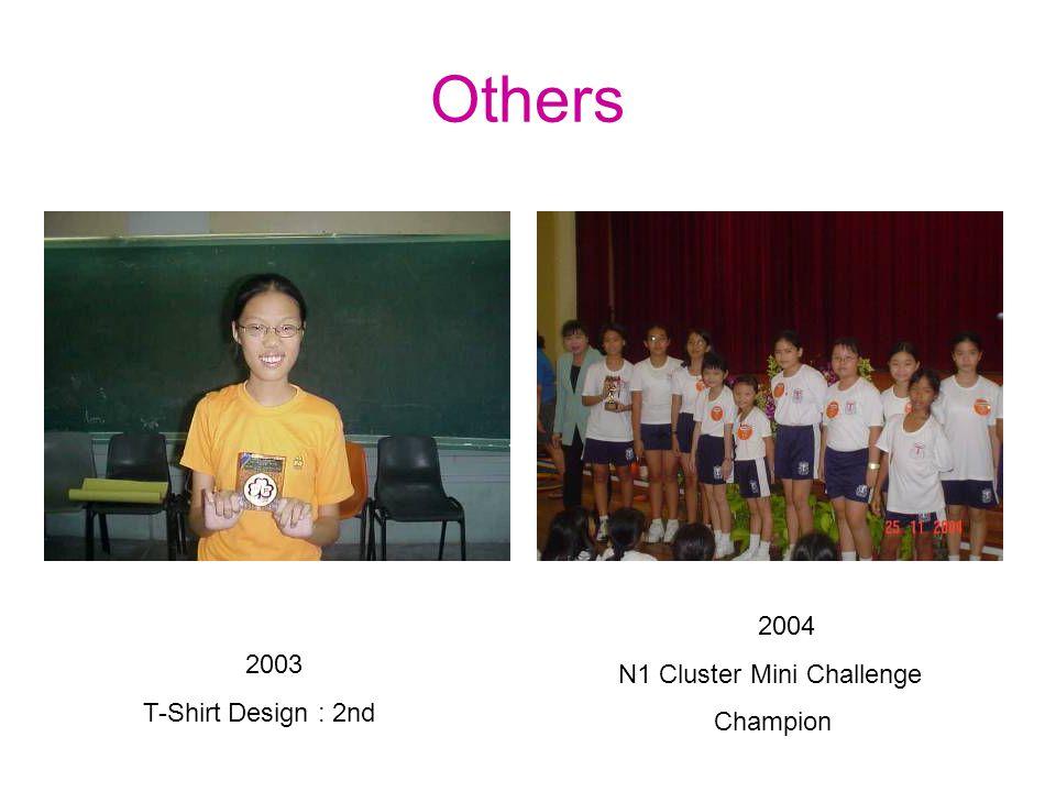 Brownie Challenge Trophy Builders : 3 rd 2005