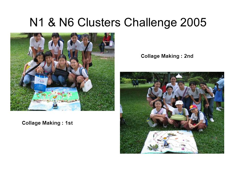 National Challenges Brownie Historical project 2005 : Champion School