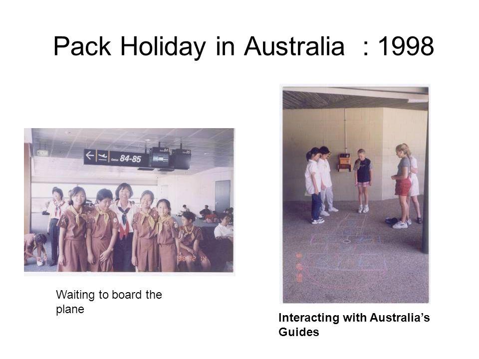 Malacca Trip in 1997