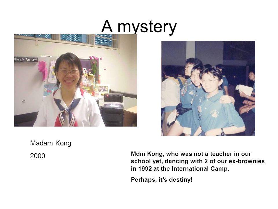 Our Brownie Leaders Ms Janet Kwek : 1989 Mrs Linda Poh : 2000 Mrs Angela Woo : 2003 Ms Ong Phei Nee : 2003