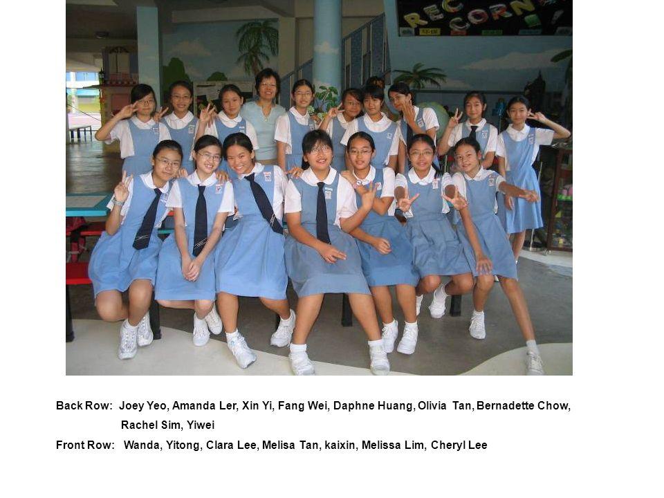 Back: Valerie, Charmaine, Levinia, Yilin, Sandy Centre: Joelle, Marysa, Vanessa, Hui Wen Front: Steffi, Rachel, Eunice 2004 : 2 nd Pack