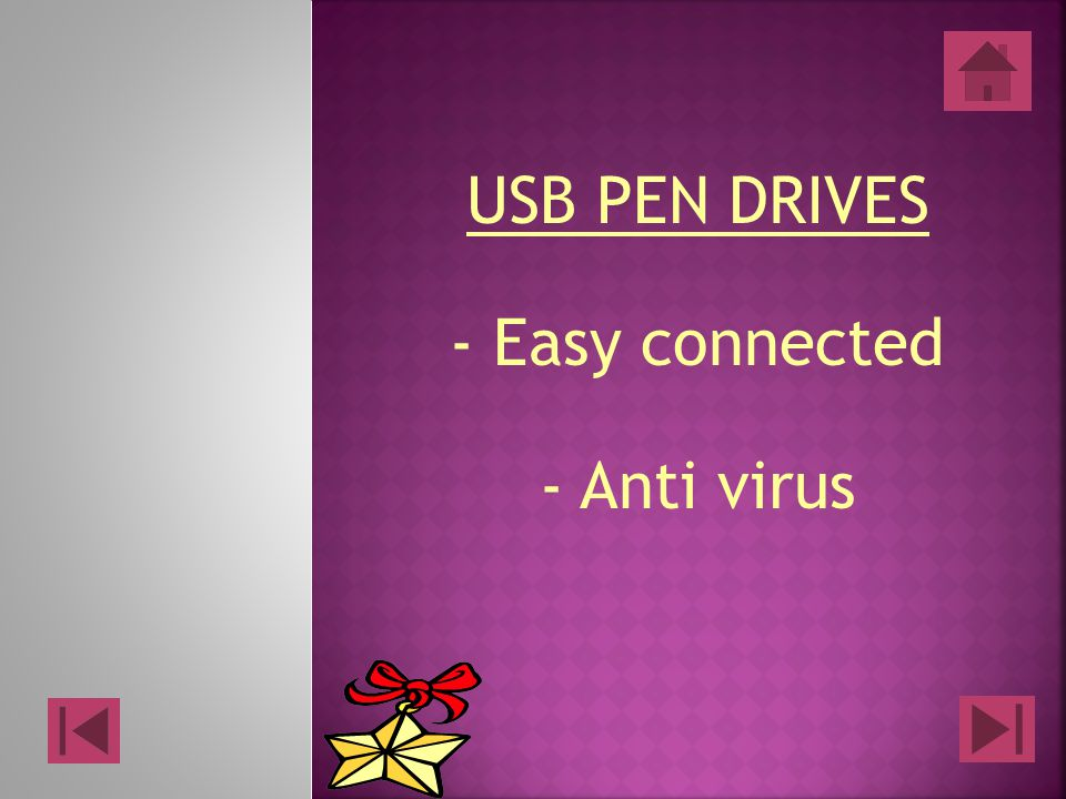 USB PEN DRIVES - Easy connected - Anti virus