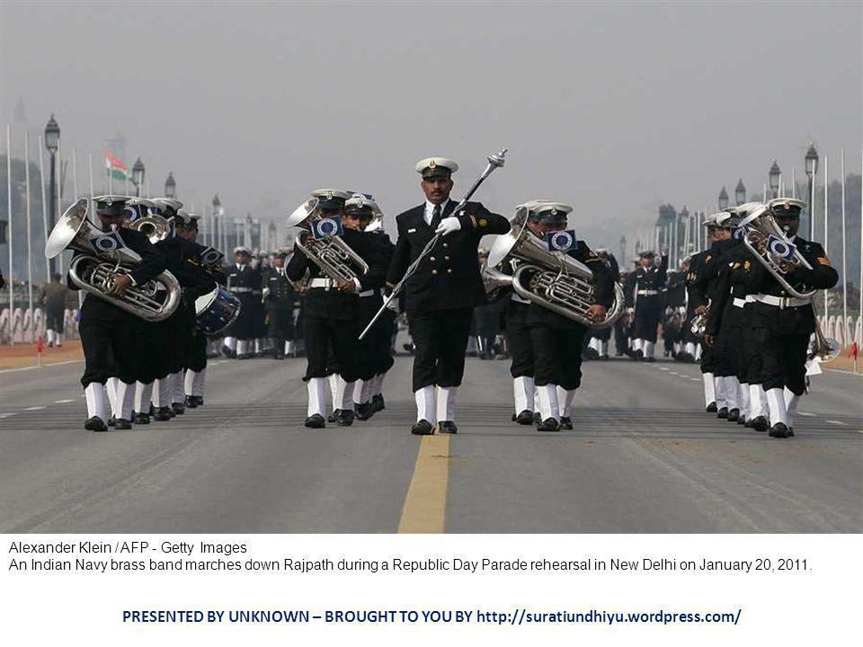 Manish Swarup / AP Indian Army soldiers gather during Republic Day parade rehearsals in New Delhi, India, Thursday, Jan.