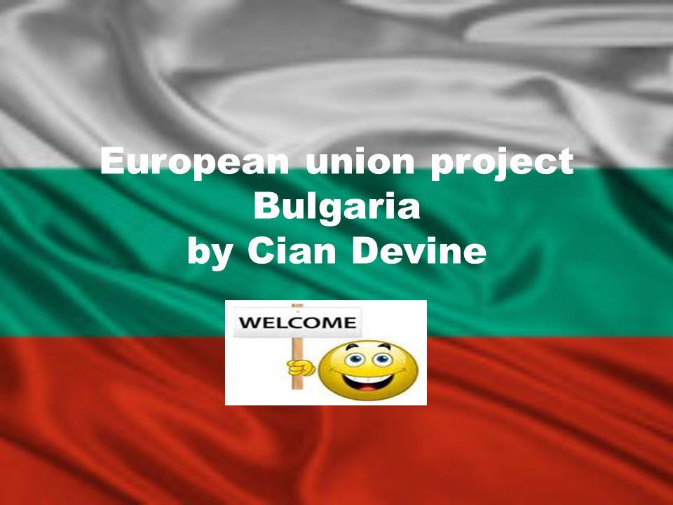 European union project Bulgaria by Cian Devine