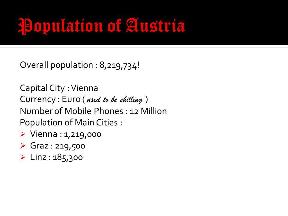 Overall population : 8,219,734.
