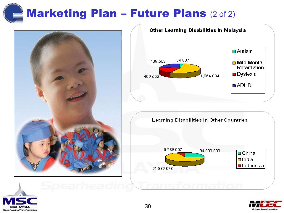 30 Marketing Plan – Future Plans (2 of 2)