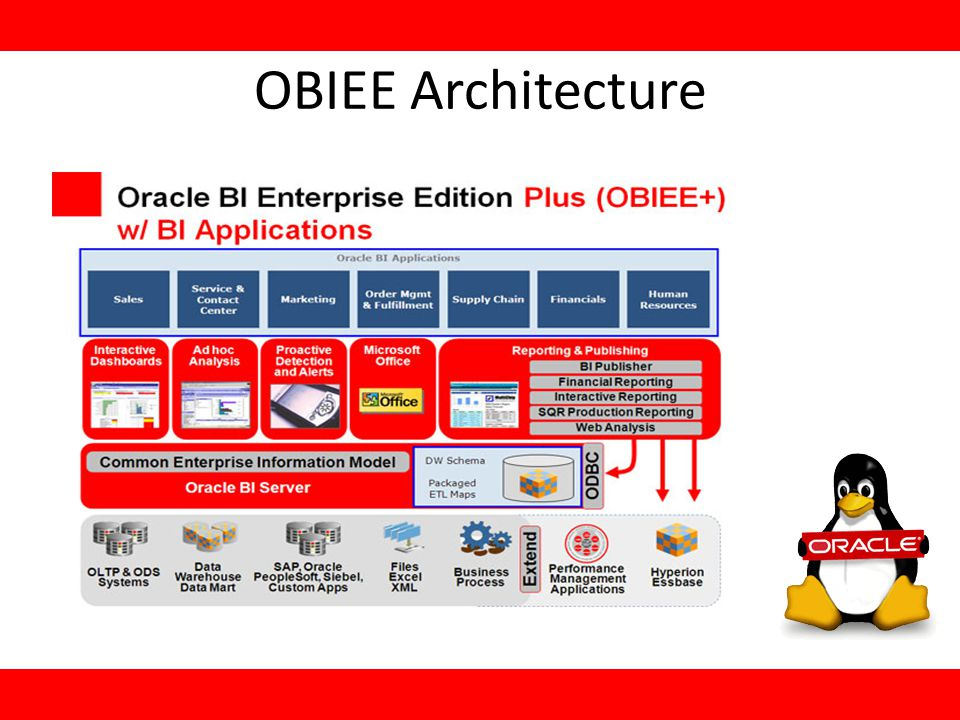 Integration İn fact that,one busines intelligence system is not alone, connecting everywhere so oracle biee can easily integrated another company production.