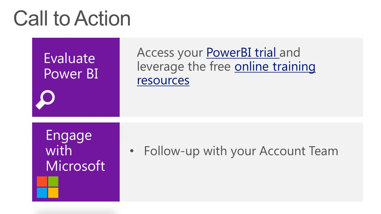 Evaluate Power BI Engage with Microsoft