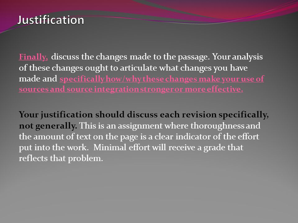 Integration Considerations: Should the material be quoted or paraphrased.