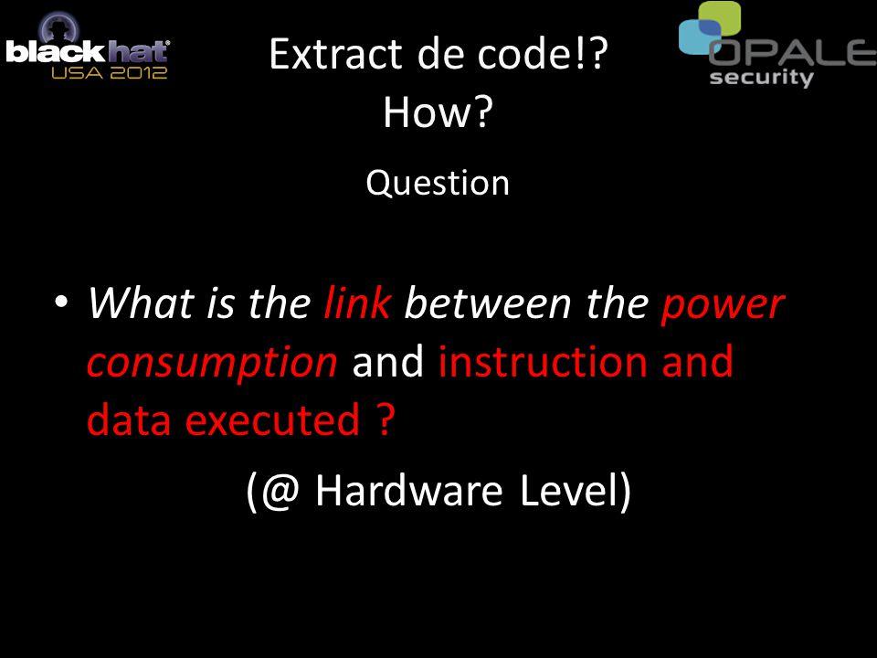 Extract de code!. How.