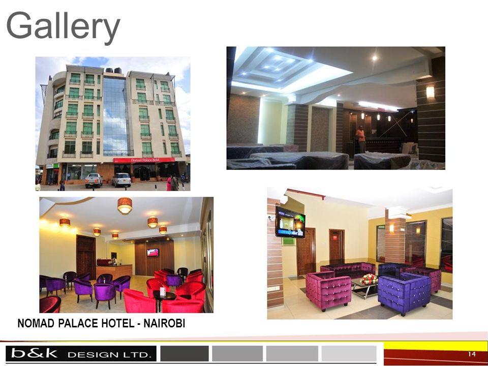 Gallery 14 NOMAD PALACE HOTEL - NAIROBI