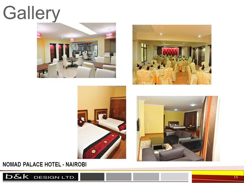 Gallery 15 NOMAD PALACE HOTEL - NAIROBI