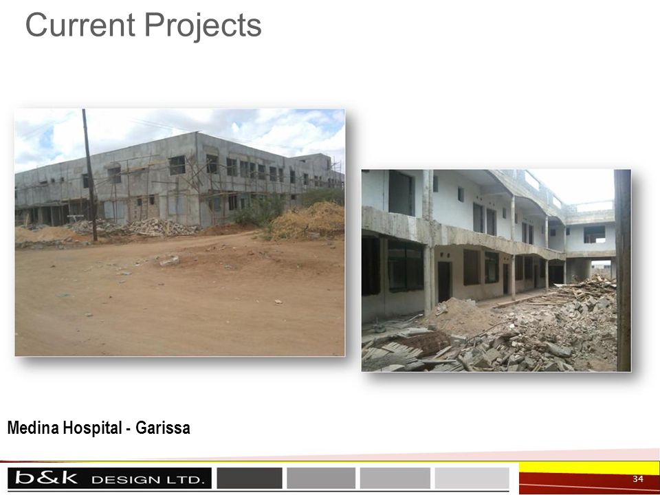 Current Projects 34 Medina Hospital - Garissa