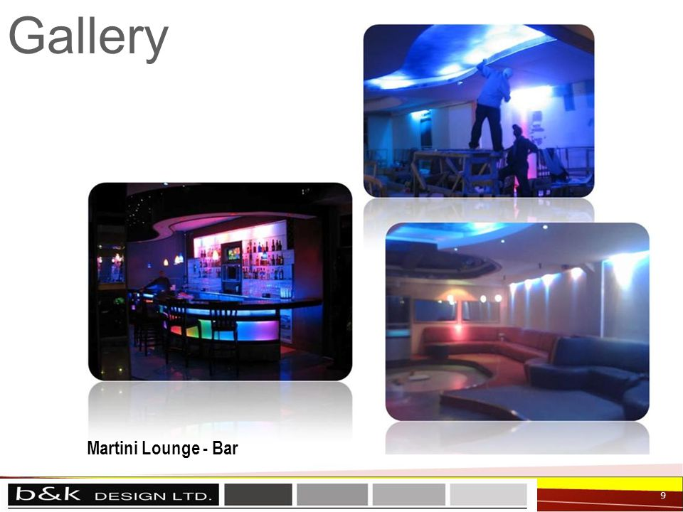 Gallery 9 Martini Lounge - Bar