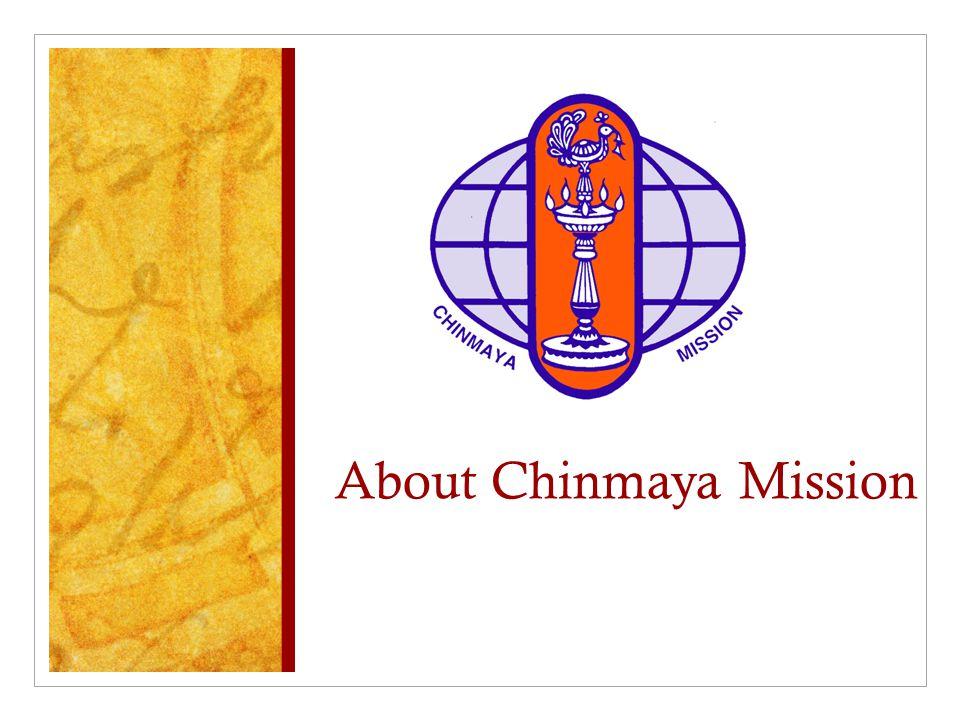 About Chinmaya Mission