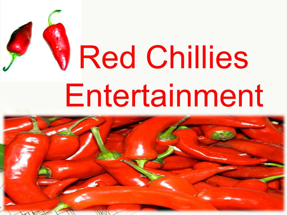 Page 1 Red Chillies Entertainment