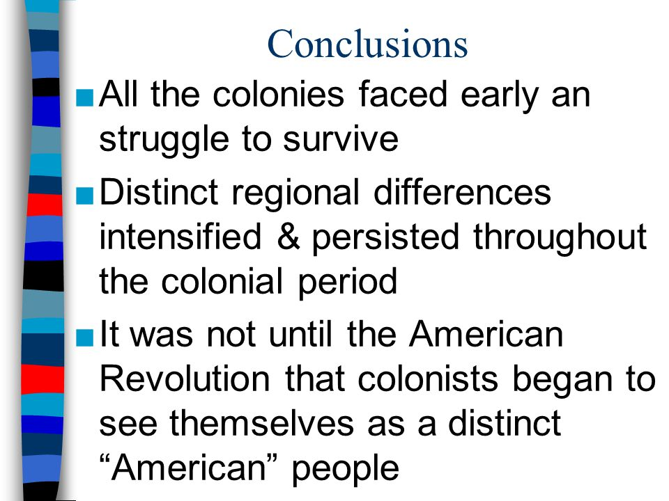 how the new england southern and middle colonies developed differently