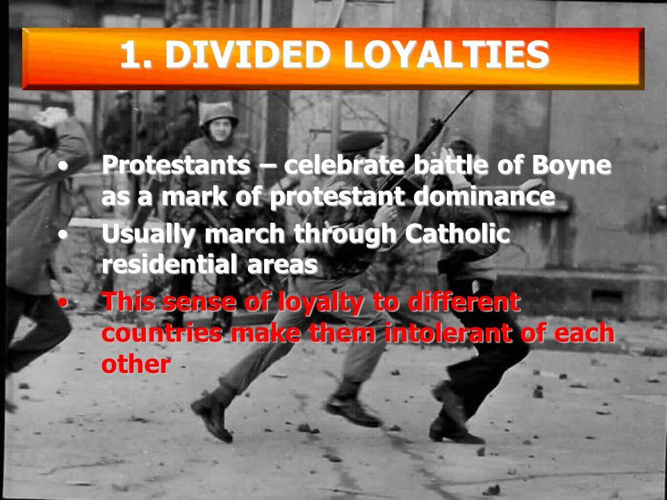 Catholics in N.I. See themselves as IrishCatholics in N.I.