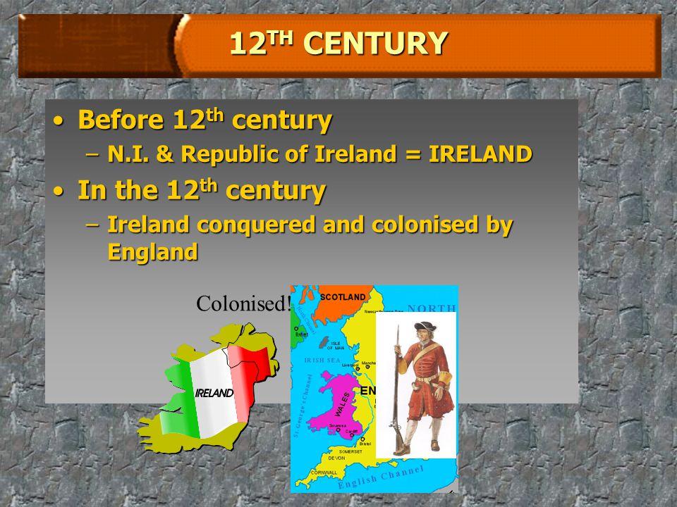 HISTORY OF N.I.