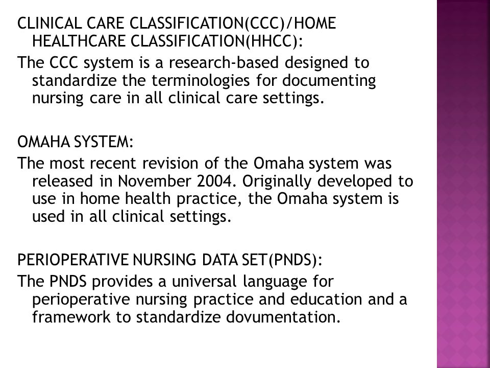 SNOMED CT: The SNOMED CT is a core clinical terminology containing healthcare concepts with unique meaning and formal logic-based definitions organized into multiple hierarchies.