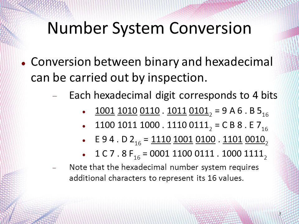 Number Systems 4
