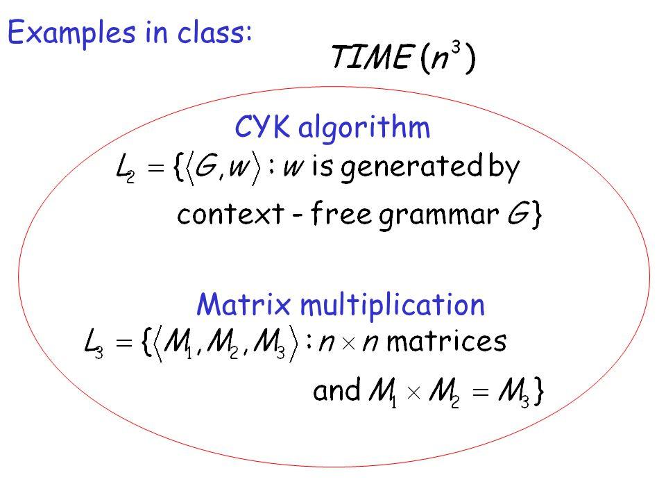 CYK algorithm Matrix multiplication